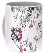 White As Snow With Cherries Coffee Mug