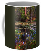 White Azaleas In The Swamp Coffee Mug