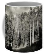 White-barked Birch Forest 3 Coffee Mug