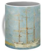 White Barque Coffee Mug
