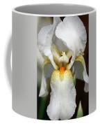 White Bearded Iris 2 Coffee Mug