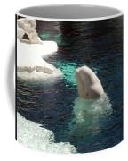White Beluga Whale 3 Coffee Mug