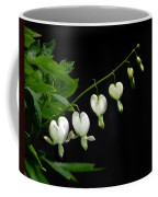 White Bleeding Hearts Coffee Mug