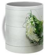 White Wedding Bouquet  Coffee Mug