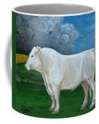 White Bull Coffee Mug
