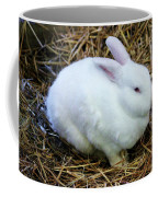 White Bunny Coffee Mug