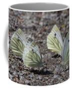 White Butterflies Coffee Mug