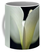 White Calla Lily Coffee Mug