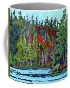 White Cedar Shore Coffee Mug