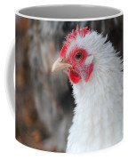 White Chicken Coffee Mug