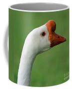 White Chinese Goose Coffee Mug