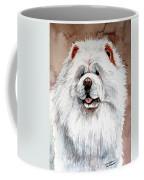 White Chow Chow Coffee Mug