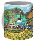 White Church Coffee Mug