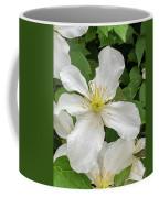 White Clematis 0808 Coffee Mug