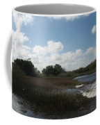 White Cloudes Over Water Coffee Mug