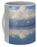 Romantic View With Sailboats In Holland Coffee Mug