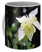 White Columbine 2 Coffee Mug