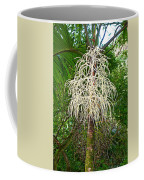 White Confetti Palm Coffee Mug