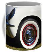 White Corvette Front Fender Coffee Mug