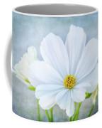 White Cosmos Coffee Mug