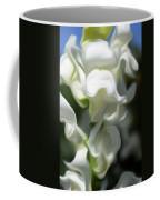 White Creamy Peaceful Coffee Mug