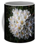 White Crocuses Coffee Mug