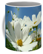 White Daisy Flowers Fine Art Photography Daisies Baslee Troutman Coffee Mug