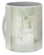 White Coffee Mug by Daniel Cacouault