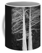 White Dead Trees Coffee Mug