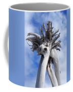 White Desert Tree Coffee Mug
