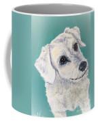 White Dog Coffee Mug