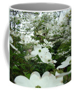 White Dogwood Flowers 6 Dogwood Tree Flowers Art Prints Baslee Troutman Coffee Mug