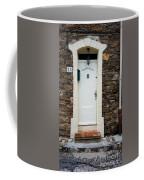 White Door 23 Coffee Mug