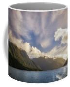 White Dragon Cloud In The Sky At Lake Manapouri Coffee Mug