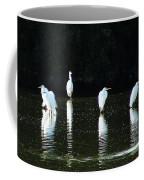 White Egrets Coffee Mug