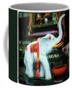 White Elephant. Meaning A Big Expensive Coffee Mug by Mr Photojimsf