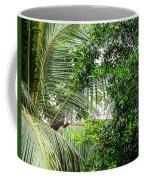 White Faced Capuchin Monkey Costa Rica Coffee Mug