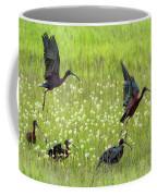 White-faced Ibis Rising, No. 1 Coffee Mug