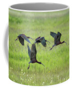 White-faced Ibis Rising, No. 2 Coffee Mug
