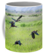 White-faced Ibis Rising, No. 3 Coffee Mug