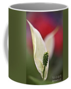 White Flamingo Flower Coffee Mug