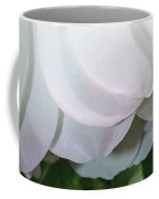 White Floral Coffee Mug