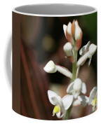 White Flower Buds Coffee Mug