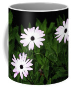 White Flowers In The Garden Coffee Mug