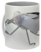 White Fly Coffee Mug by Michael Jude Russo