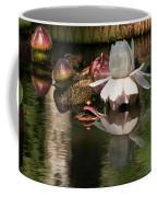 White Giant Water Lily Coffee Mug