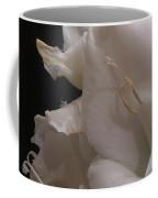White Gladiolus Flower Coffee Mug