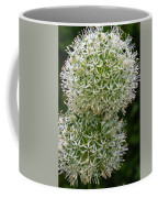 White Globe Thistle 2 Coffee Mug
