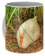 White Goose By Pond Coffee Mug
