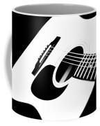 White Guitar 4 Coffee Mug